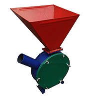 Зернодробилка без двигателя «Млинок» + початки кукурузы: 170 кг/ч, электропривод, 26х26х58 см
