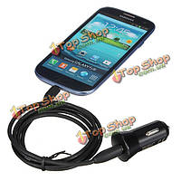 Порт USB подключите Автомобильное зарядное устройство адаптер для iPhone ежевики