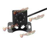 Автомобильная камера заднего вида HD LED фары 170 градусов широкий угол ночного видения