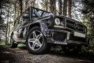 Расширители арок карбоновые Mercedes G-class W463