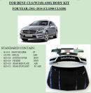Обвес на Mercedes Benz CLS AMG W218