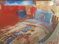 Тас Disney  Supermаn (Супермен) одеяло+постель