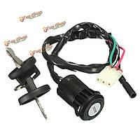Выключатель зажигания мотоцикла с 2-мя ключами для Хонды четыре Trax Recon trx250te trx250tm