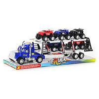 Детская игрушка Трейлер 8352-5 инерционный