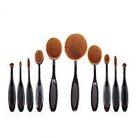 Набор кистей-щеток для макияжа из 10 штук Brush Set , фото 1