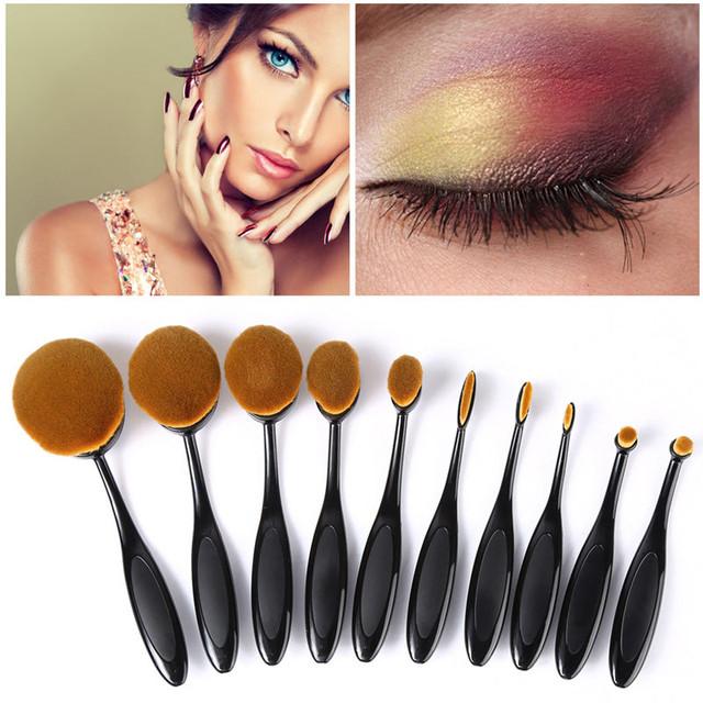 Набор кистей-щеток для макияжа из 10 штук Brush Set