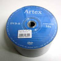 Диск Artex  4.7Gb  - 16x  (bulk 50)   DVD-R