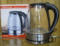 Чайник CRYSTAL стекло 1721 - 1.7 л