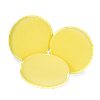 KOCH CHEMIE SCHLEIFSCHWAMM GELB, MITTELHART. Полу-твердый полировальный круг Ø 160 x 50 мм.