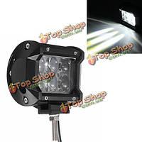 4-дюймов 6500k 4D проектор луч потока LED легкая работа для квадроциклов седельный тягач сув джипа