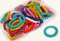 Цветные резинки пружинки набор 50 шт.