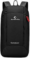 Рюкзак для города 10л Anmeilu Outdoor чёрный