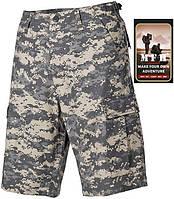Полевые шорты американской армии, Rip Stop, цифровой камуфляж MFH 01512Q