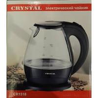 Чайник CRYSTAL стекло 1518 - 1.5 л