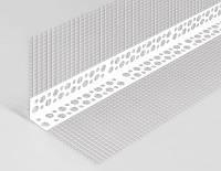Профиль ПВХ УГЛОВОЙ с сеткой 70х70 мм, 2,5м
