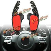 Машина переключения передач рулевого колеса расширение углеродного волокна для педали VW Golf GTI МК7 GTD