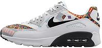 Женские кроссовки Nike Air Max 90 Ultra Liberty (найк аир макс 90) белые