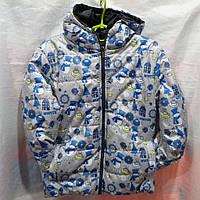 d8711a8d4369 Курточка детская на девочку весна-осень на Синтепоне 3-8 лет купить оптом в