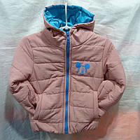 f0261c934ddb 176 грн. при заказе от 5 шт. В наличии. Курточка детская на девочку весна- осень на Синтепоне 2-6 лет купить оптом в Одессе дешево
