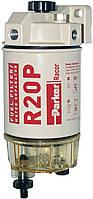 RACOR 230R122 Сепаратор дизельного топлива, влагоотделитель подогрев 12V, с подкачкой, Racor 230R, 2 мкм