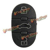Замена резины 3 Кнопка ремонт для Audi A2 A3 A4 a6 a8 ТТ дистанционного ключа нет чипа
