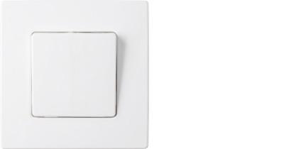 Выключатель С110-2007 одинарный с подсветкой скрытой установкой Мастер BYLECTRICA, 1578