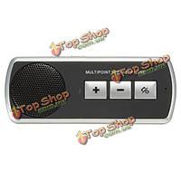 Автомобиль БТ многоточечных громкой связи Handsfree с солнцезащитный козырек клип
