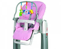 Набор для детского стульчика Peg-Perego Tatamia (чехол и игровая панель) розовый