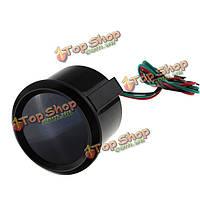 52мм 15-45 psi красный цифровой LED черный импульс датчика двигателя автомобиля