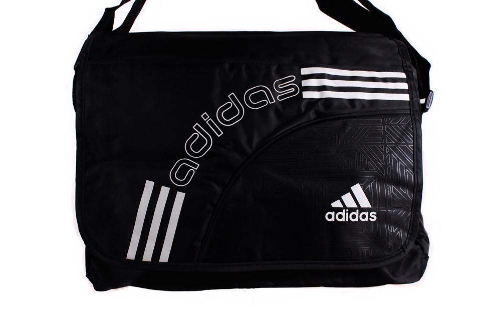 Мужская сумка с клапаном и логотипом Adidas 303273
