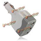Автомобильное зарядное устройство адаптер питания инвертора преобразователя с USB-выходом, фото 5