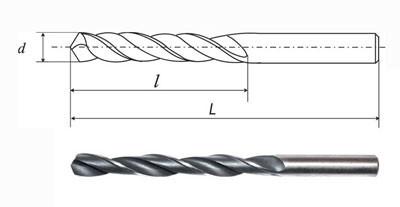 Сверло 2,4 мм ц/х ср. серия ст.HSS