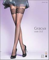 Колготы, колготки женские с узором Gabriella GRACYA с имитацией чулок 20 den