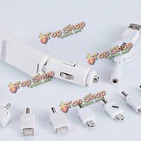 Универсальный адаптер Автомобильное зарядное устройство с выдвижной двойной USB порт