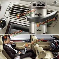 Автомобильный инвертор с кислородный бар ionizer12v до 220В Автомобильное зарядное устройство