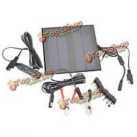 18В 2 Вт поликристаллического кремния панель солнечных батарей автомобильного аккумулятора зарядное устройство для автомобиля/грузовик