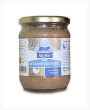 Консерва для кошек Май Мио My mio 500г (стекло) мясо индейки