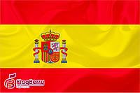 Флаг Испании 80*120 см., искуственный шелк