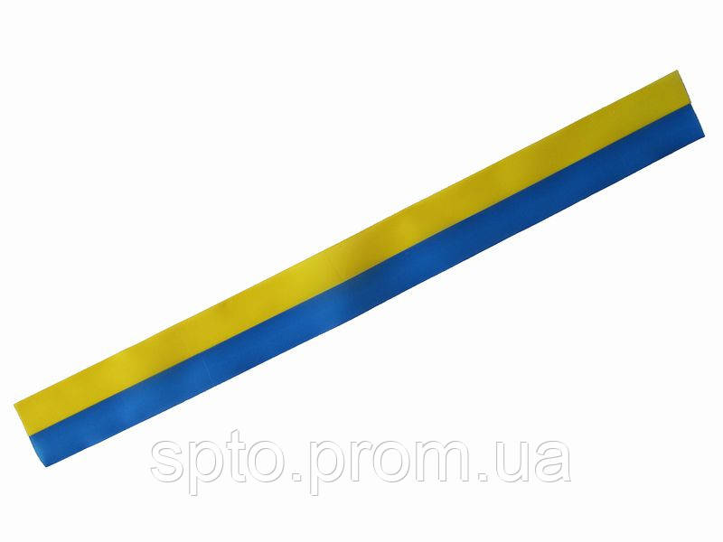 Лента сине-желтая