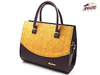 Фиолетовая женская модельная сумка T 16072 ( новинка весна, лето, осень)