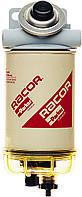 RACOR 490RHH30MTC Сепаратор дизельного топлива, влагоотделитель подогрев 24V, с подкачкой, Racor 490R, 30 мкм