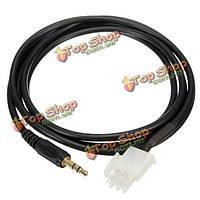 1.5м 3 контактный мотоцикл AUX кабель линии аудио для Хонда GL1800 Goldwing