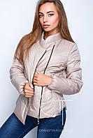 Молодежная  демисезонная  женская  куртка