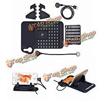 Безопасность 2a автомобильный держатель зарядка для всех умных планшетных устройств цифровой телефон
