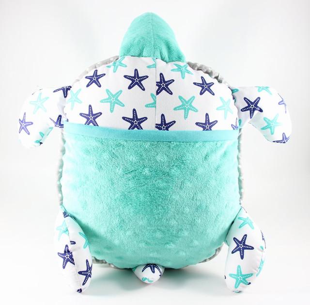 Детская подушка с карманом