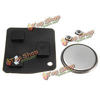 Дистанционный ключ резиновая прокладка батарея & 2 выключатель комплект для ремонта для Тойота Авенсис