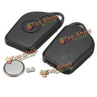 2 кнопки пульта сигнализации брелок чехол комплект для Ситроен саксо Пикассо