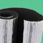 Алюфом R 25 мм, синтетический каучук ламинированный алюминиевой фольгой с защитным покрытием