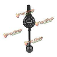 A8 автомобильный комплект FM-передатчик автомобиля MP3 руку свободной двойной USB зарядное устройство