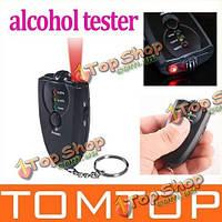 Точная тестер спирта дыхания алкотестер с фонариком функции